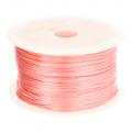 001 Satijnkoord 3mm Roze per 1mtr