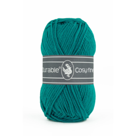 2142 Teal - Durable Cosy Fine 50gr.