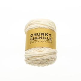 002 - Chunky Chenille 002 Kleur: Cream