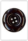 97733-48 Knoop met 6 blaadjes donker