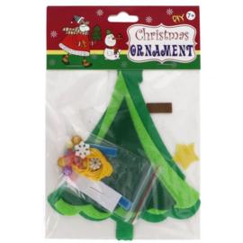 Viltpakket voor kinderen kerstboom hanger