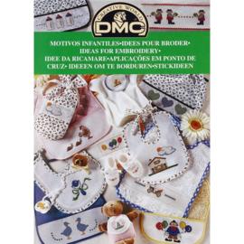 12805-22 DMC Boek ideeën om te borduren