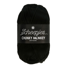 Chunky Monkey 100g - 1002 Black