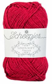 Scheepjes Linen Soft 604 Donkerrood