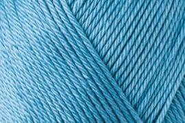 Catania haak/brei katoen kleur: Tegelblauw 380