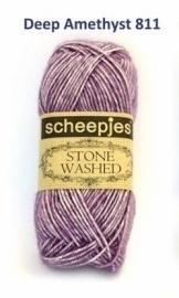 Scheepjes Stone Washed Deep Amethyst 811
