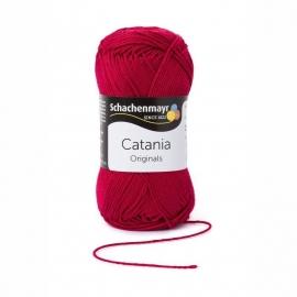 192 Catania haak/brei katoen kleur: Wijnrood 192