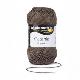 387 Catania haak/brei katoen kleur:  Zwarte Olijf  387