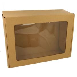 Lege doos met venster