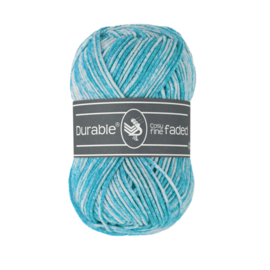 0371 Durable Cosy fine Faded Turquoise