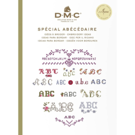 DMC Boek ideeën om te borduren alfabet