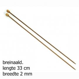 Bamboo breinaalden