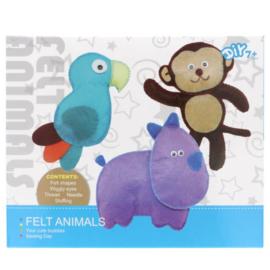 Viltpakket amigurumi voor kinderen dieren