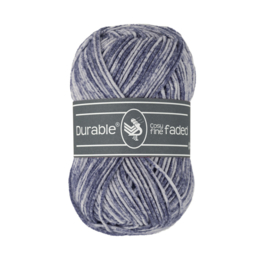 0321 Durable Cosy fine Faded Navy