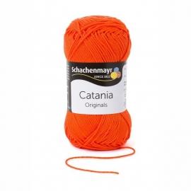 189 Catania haak/brei katoen kleur:  Oranje 189