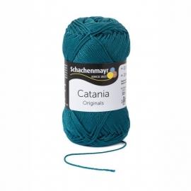 Catania haak/brei Katoen Kleur: Petrol 391