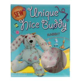 Naaipakket amigurumi voor kinderen konijn