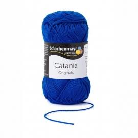 201 Catania haak/brei katoen kleur:  Koningsblauw 201