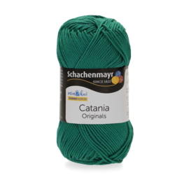 Catania haak/brei katoen kleur: Smaragd 430