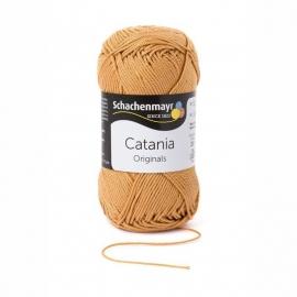 179 Catania haak/brei katoen kleur: Zandbruin Camel  179