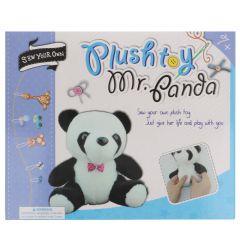 Naaipakket amigurumi voor kinderen panda