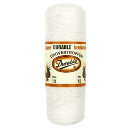 Durable Breikatoen nr.12 100gr. kleur 009 wit