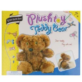 Naaipakket amigurumi voor kinderen teddybeer