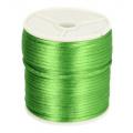 433 Satijnkoord 3mm Groen per 1mtr