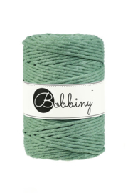 Bobbiny macram 5mm Eucalyptus green
