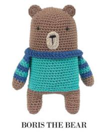 Boris the Bear Tuva haakpakket amigurumi