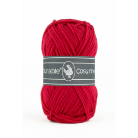 0317 Deep red - Durable Cosy Fine 50gr.