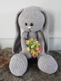 XXL Funny Bunny Basic taupe