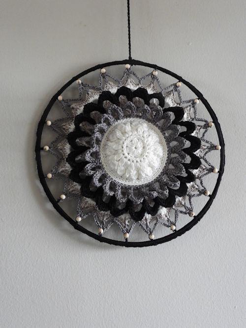 Haakpakket Funny Mandala Flower Classic (25cm)