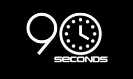90 seconden.