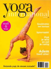 Stress ontladen met 'Let it Be' als levenshouding. (in Yoga International)