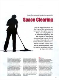 Space Clearing: Juno Burger ontmaskert energieën (in Paravisie).