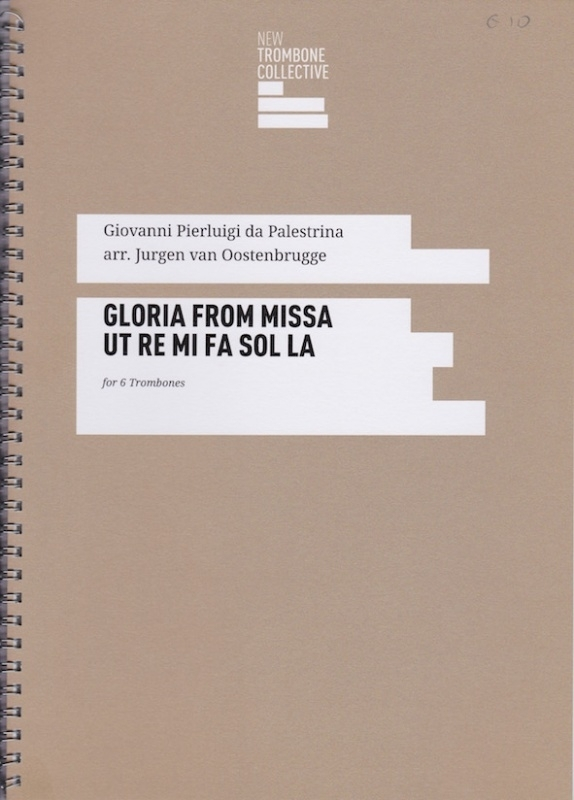 Gloria from Missa Ut Re Mi FA Sol La - Giovanni Pierluigi Palestrina, arr Jurgen van Oostenbrugge