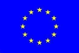 Vlag Europa 90x150