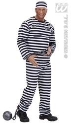 Gevangenispak zwart en wit easy