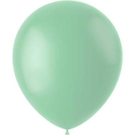 Ballonnen Powder Pistache Mat