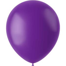 Ballonnen Orchid Purple Mat