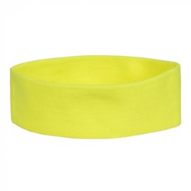 Retro Hoofdband |neon geel