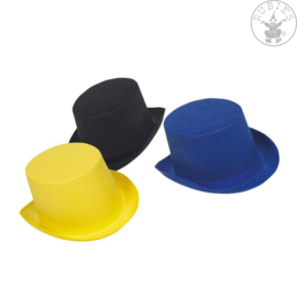 Hoge hoed vilt   Geel