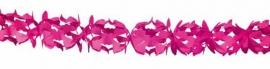 Papieren slinger Hoku pink