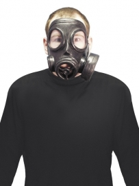 Gasmasker zwart