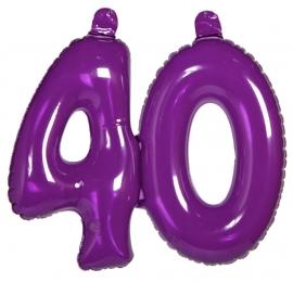 Opblaas cijfer 40 jaar