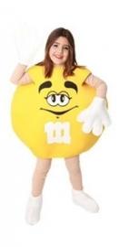 M feestoutfit geel kinderen