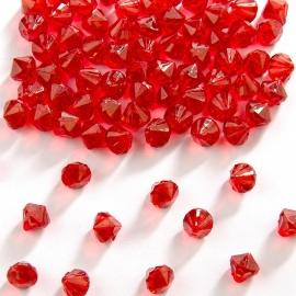 9 mm tafeldecoratie hart diamantjes