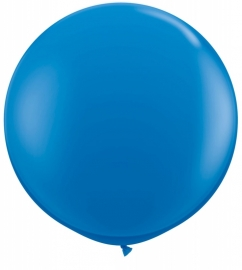 Ballonnen 90cm jumbo dark blue