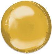 Folieballon Orbz goud (40cm)